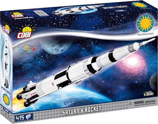21080 COBI SATURN V ROCKET