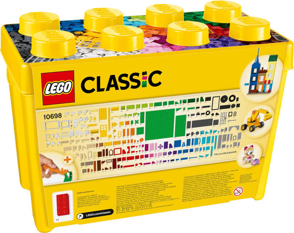 10698 LEGO® Classic Große Bausteine Box