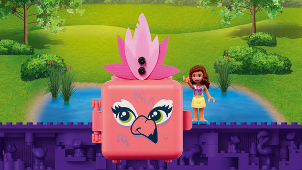 41662 LEGO® Friends Magische Würfel Olivias Flamingo-Würfel