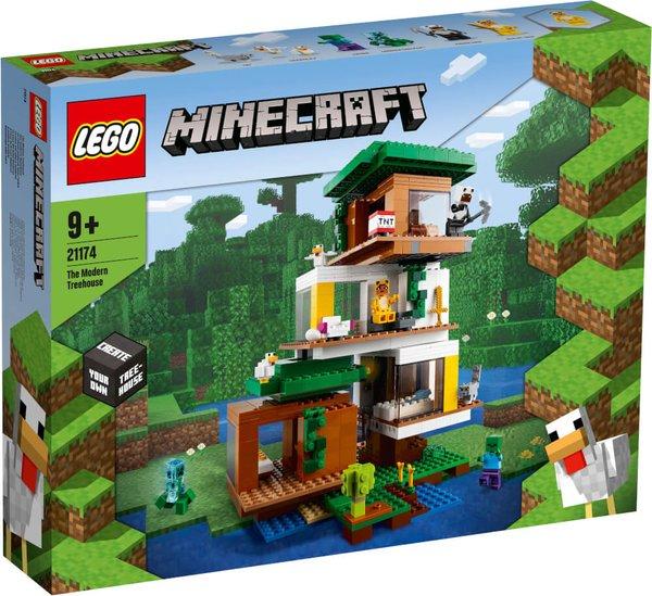 21174 LEGO® Minecraft# Das moderne Baumhaus