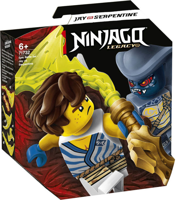 71732  LEGO® NINJAGO Battle Set: Jay vs. Serpentine