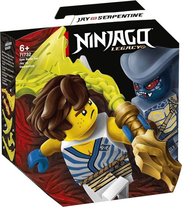71732  LEGO® NINJAGO Battle Set: Jay vs. Serpentine