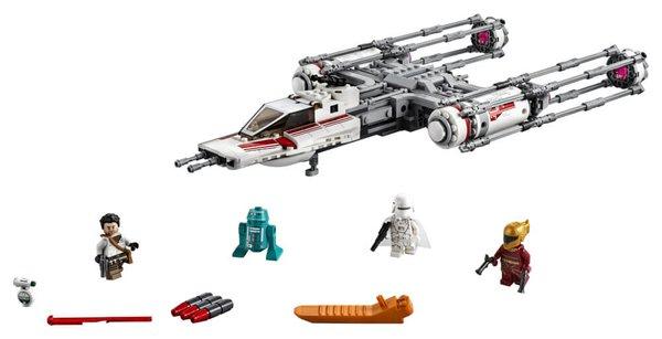 75249 LEGO® Star Wars Widerstands Y-Wing Starfighter