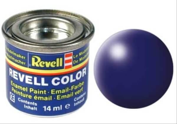 REVELL 32350 lufthansa-blau, seidenmatt RAL 5013 14 ml-Dose