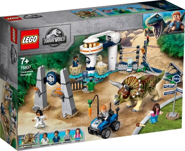 75937 LEGO® Jurassic World Triceratops-Randale