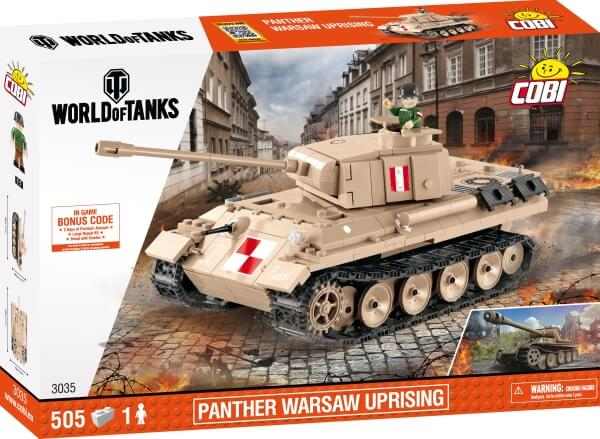 3035 COBI PzKpfw V Panther - Warsaw Uprising