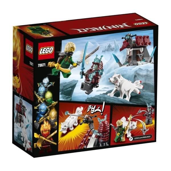 70671 LEGO® Ninjago Angriff des Eis-Samurai
