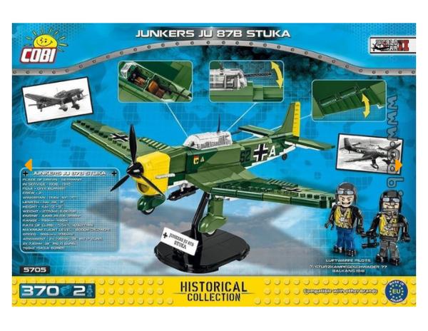 Cobi 5705 Junkers JU 87B STUKA (Historical Collection - WWII - Planes)
