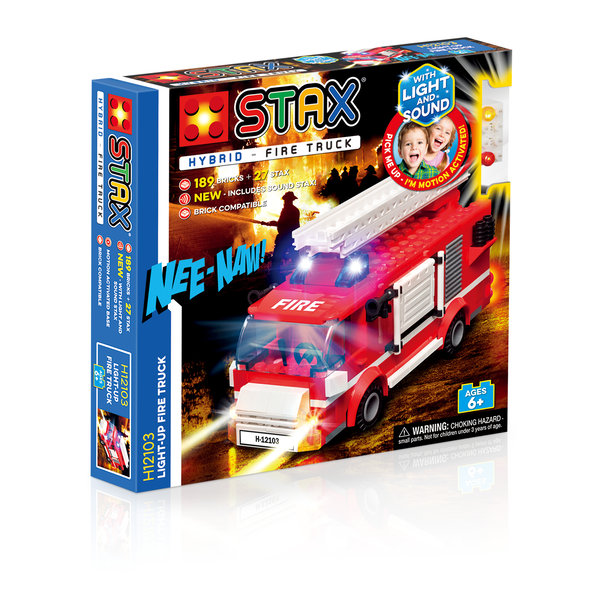 STAX Hybrid Light Up Fire Truck 12103 Feuerwehr