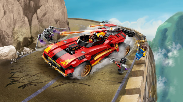 LEGO® NINJAGO 71737 X-1 Ninja Supercar