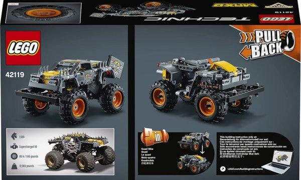 42119 LEGO® Technic Monster Jam® Max-D®
