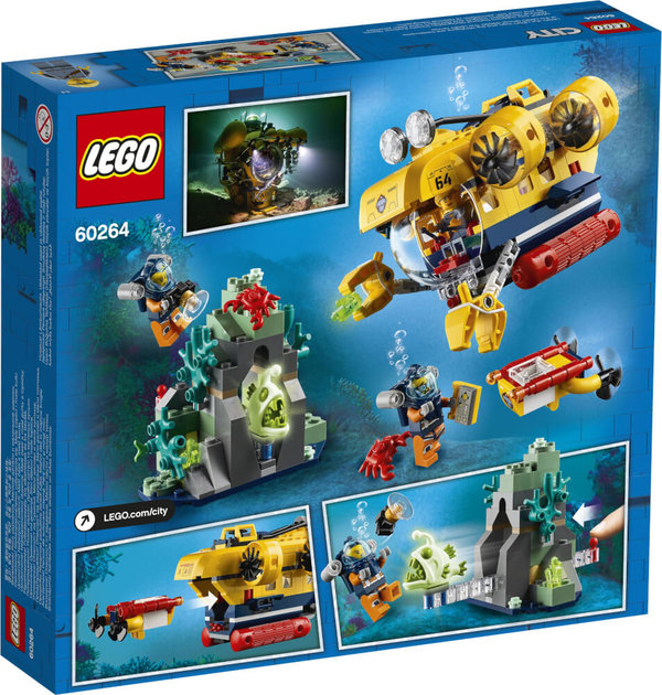 60264 LEGO® City Meeresforschungs-U-Boot