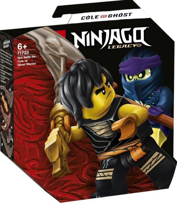 71733LEGO® NINJAGO Battle Set: Cole vs. Geisterkämpfer