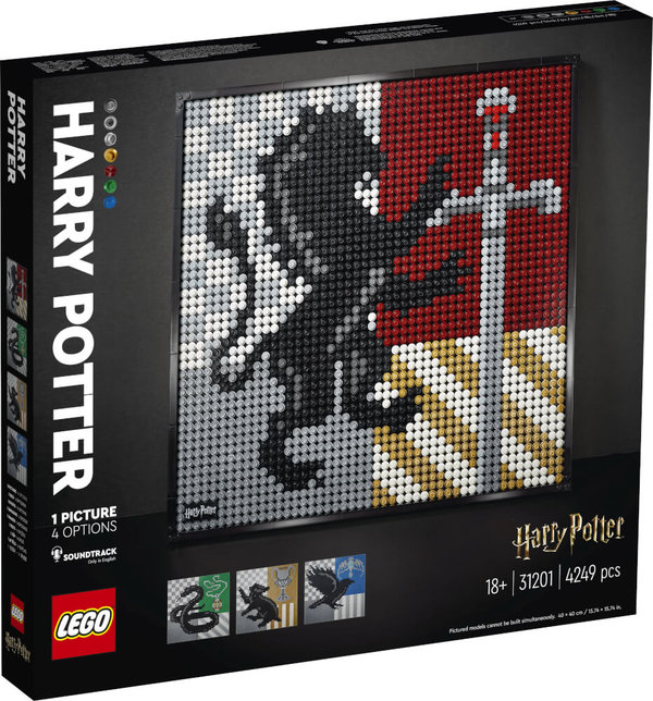 LEGO® ART 31201 Harry Potter# Hogwarts# Wappen