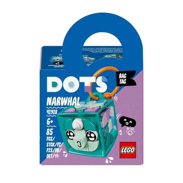 41928  LEGO® DOTS Taschenanhänger Narwal