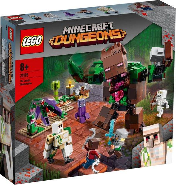 21176 LEGO® Minecraft# Die Dschungel Ungeheuer