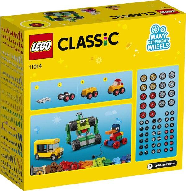 11014 LEGO® Classic Steinebox mit Rädern
