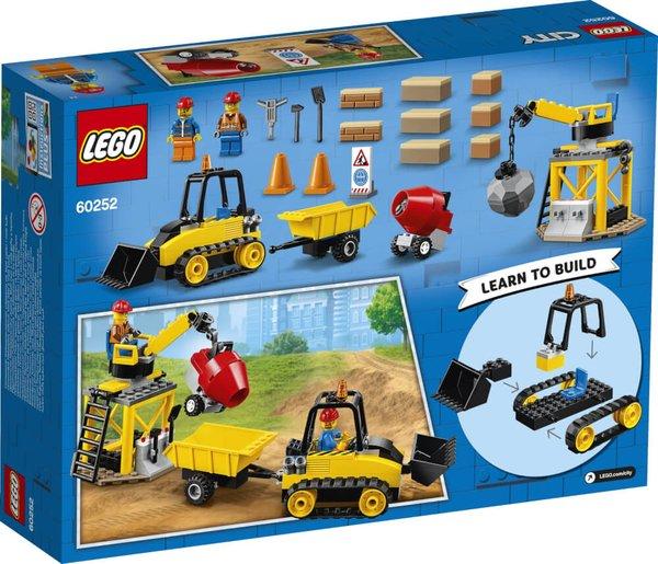 60252 LEGO® City Bagger auf der Baustelle