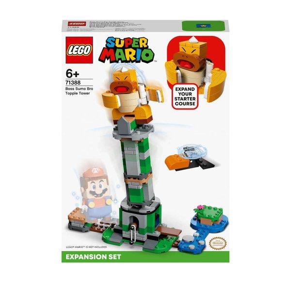 71388  LEGO® Super Mario Kippturm mit Sumo-Bruder-Boss # Erweiterungsset
