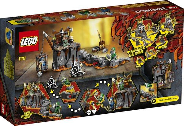 71717 LEGO® NINJAGO Reise zu den Totenkopfverliesen