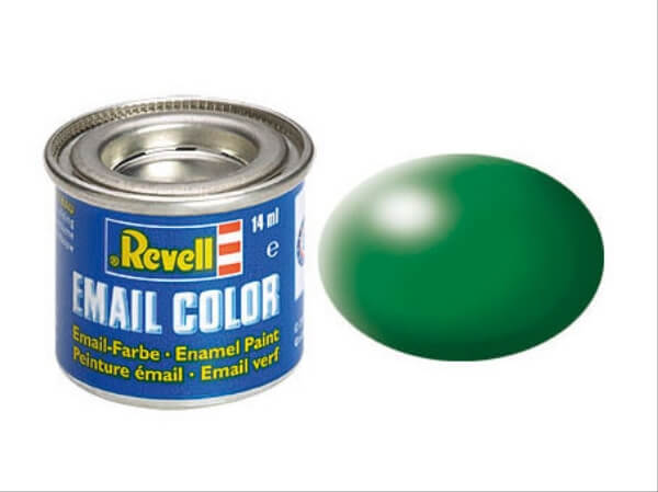 REVELL 32364 laubgrün, seidenmatt RAL 6002, 14 ml-Dose