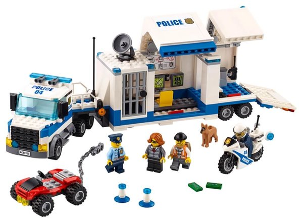 60139 LEGO® City Mobile Einsatzzentrale