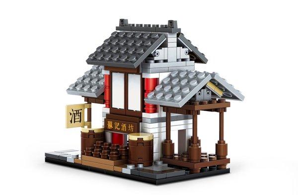 Wange 2319 Architecture-Set Chinesische Brauerei