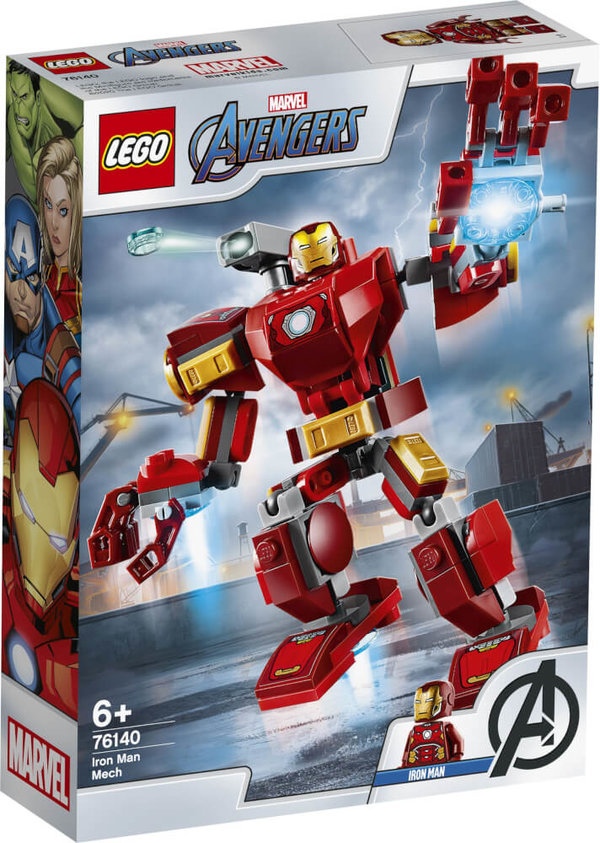 76140 LEGO® Marvel Super Heroes Avengers Iron Man-Mech