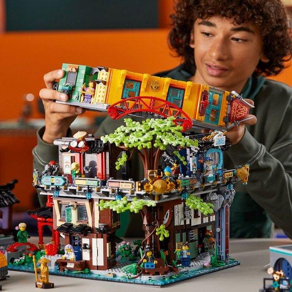 71741 LEGO®  Die Gärten von NINJAGO® city
