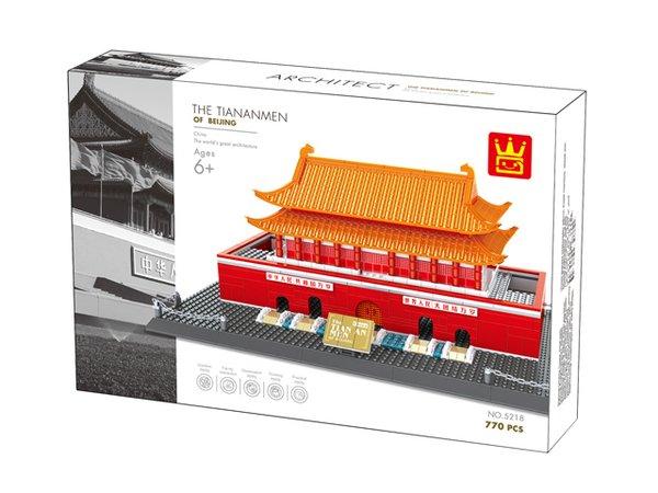 Wange 5218 Architect-Set Das Tor des himmlischen Friedens Peking - The Tiananenmen of Bejing 770 Teile
