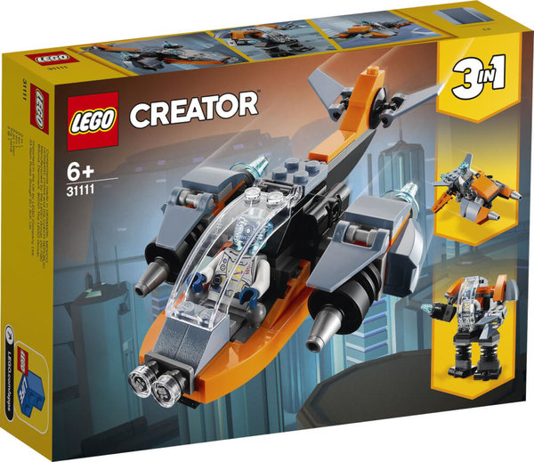 31111 LEGO® Creator  Cyber-Drohne